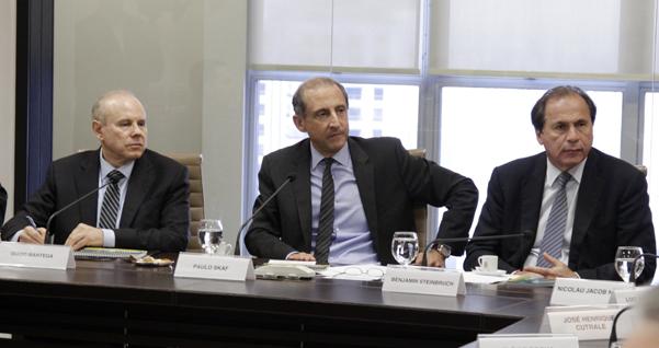 Paulo Skaff e Benjamin Steinbruch, os homens mais poderosos da FIESP
