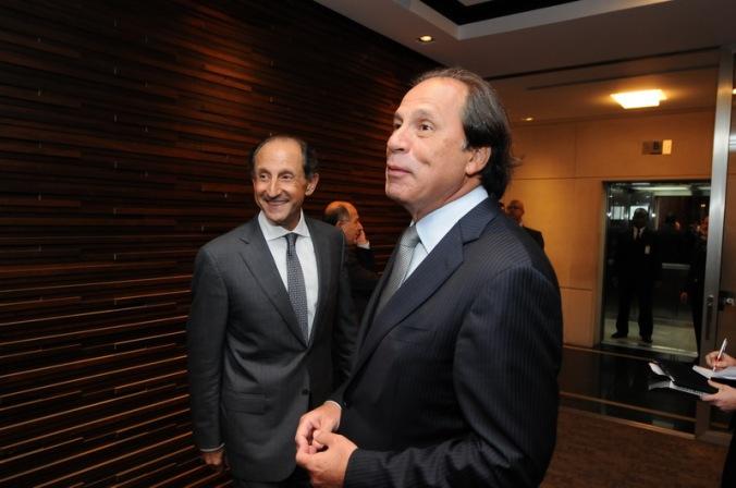 Os homens de frente da FIESP. Paulo Skaff e Benjamin Steinbruch. Fonte: Desconhecida