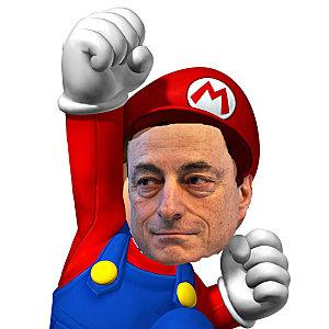 Mario Draghi, chefe da política monetária e da supervisão financeira na Europa