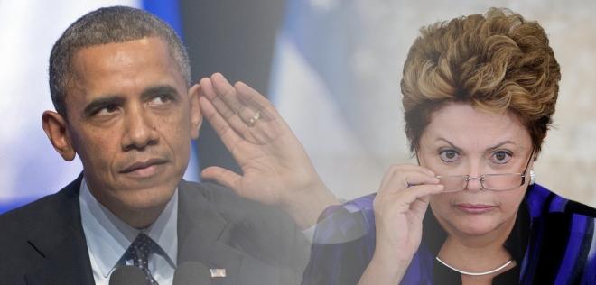 dilma versus obama