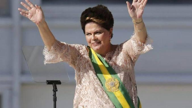 Dilma no discurso de posse do seu 2º mandato